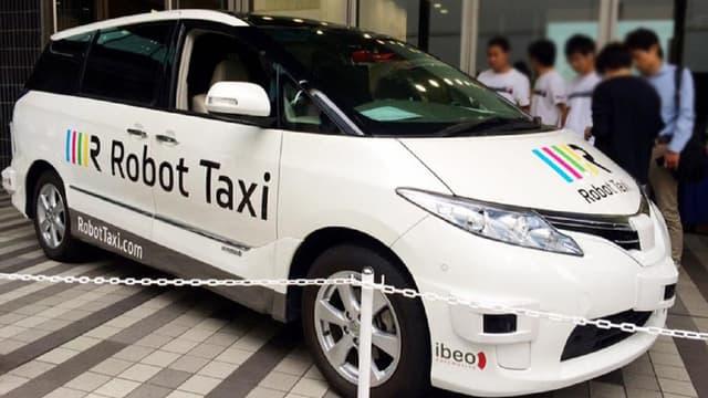 Robot Taxi vise une mise en circulation de ses véhicules autonomes à l'occasion des Jeux olympiques d'été de 2020.
