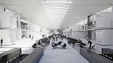 Les 30.000 m² de la Halle Freyssinet vont être réaménagés pour accueillir un millier d'entreprises.