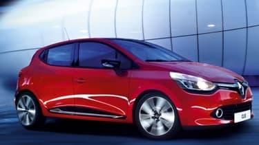 La Clio IV est l'une des stars du salon de l'automobile.