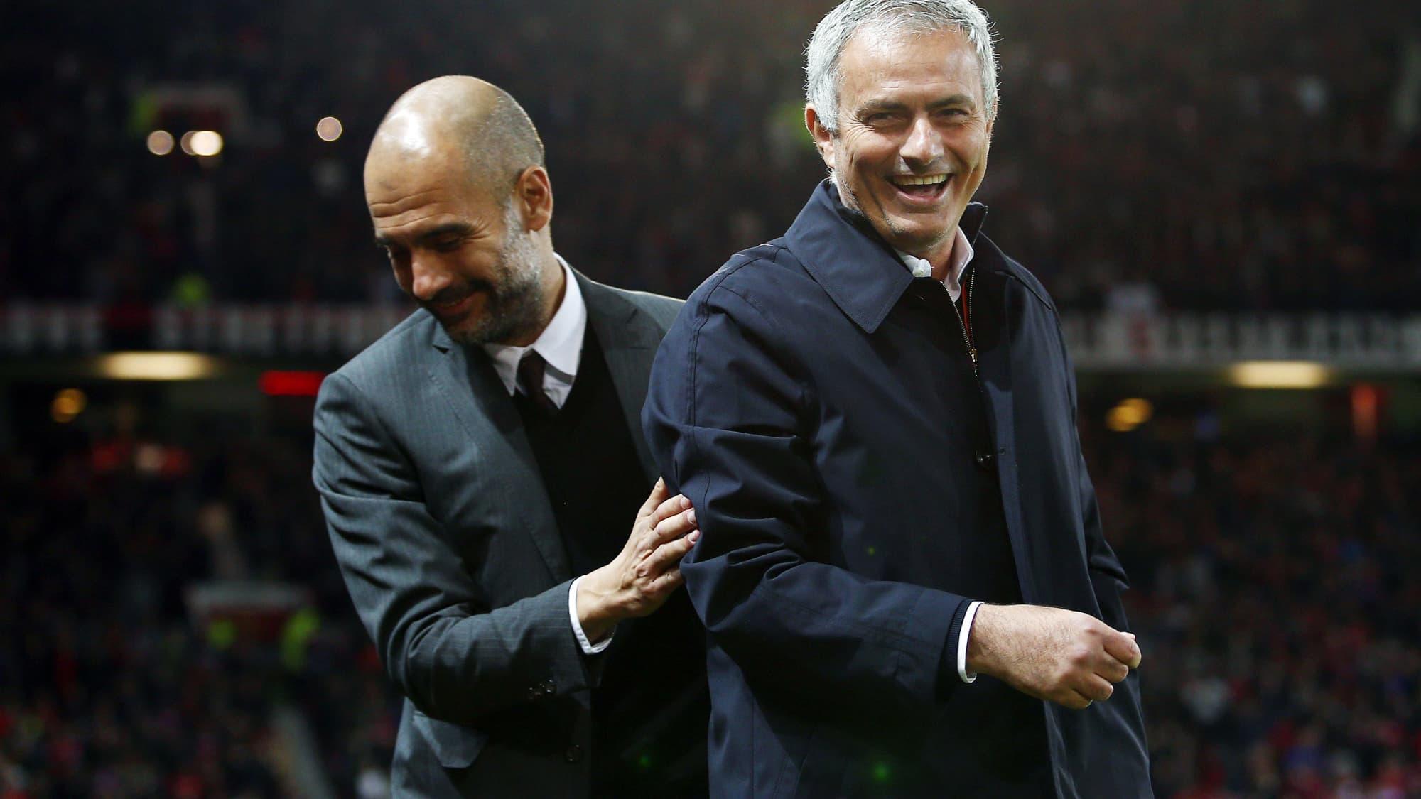 Tottenham: les confidences touchantes de Mourinho sur sa relation avec Guardiola - RMC Sport