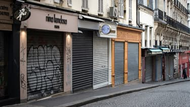 La fermeture des boutiques a entrainé la mise en chômage partiel des employés.