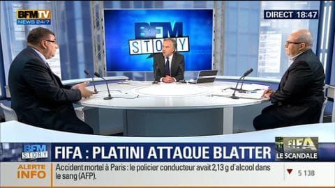 """Corruption à la Fifa: Michel Platini demande à Sepp Blatter """"de démissionner"""" (2/2)"""
