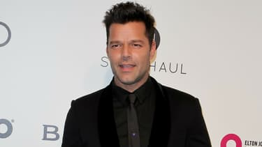Ricky Martin lors d'un gala en Californie en 2017