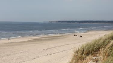 Une plage du nord de la France