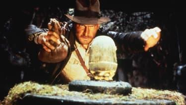 """Harrison Fort dans """"Indiana Jones, Les aventuriers de l'Arche perdue"""""""