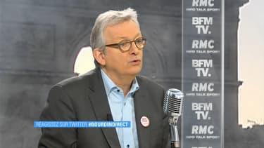 Pierre Laurent, secrétaire national du Parti communiste, était l'invité de Jean-Jacques Bourdin ce vendredi.
