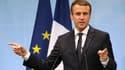 Emmanuel Macron a tenu un discours lors de la conférence des territoires