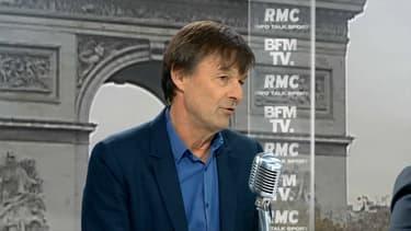 Nicolas Hulot mercredi sur BFMTV et RMC.
