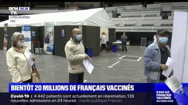 Vaccination: l'objectif de 20 millions de personnes ayant reçu une première dose bientôt atteint