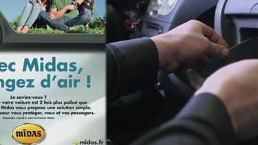 Un automobiliste est beaucoup plus exposé aux polluants dans sa voiture que chez lui: Midas propose un pack dépollution habitacle