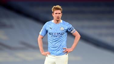Kevin de Bruyne avec Manchester City