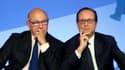 Michel Sapin et François Hollande suspectés de disposer d'une cagnotte financière comme Jospin en 2000.