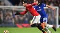 Henrikh Mkhitaryan face à Chelsea