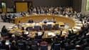 Le Conseil de sécurité de l'ONU, à New-York.