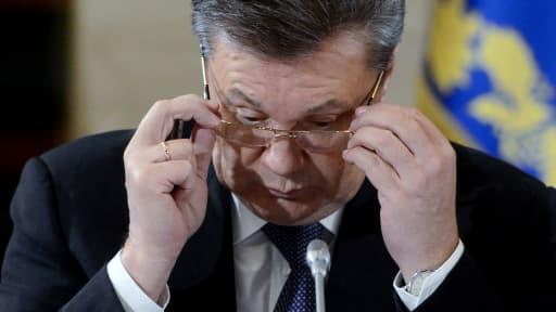 L'ancien président ukrainien Viktor Ianoukovitch, destitué le 22 février dernier