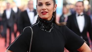 Elisa Tovati au festival de Cannes en mai 2015