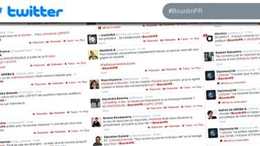 L'interview de François Hollande par Jean-Jacques Bourdin sur BFMTV et RMC a été le sujet le plus discuté sur le réseau social Twitter.