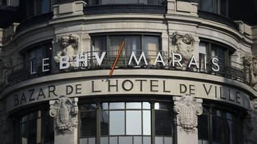 Le BHV à Paris.