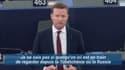 L'eurodéputé Seb Dance, mardi au Parlement