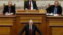 Le nouveau Premier ministre grec, Lucas Papadémos, a estimé lundi, à l'occasion de son premier discours devant le Parlement, que la Grèce aurait besoin d'un nouveau plan d'ajustement budgétaire pour remplir ses objectifs. /Photo prise le 14 novembre 2011/