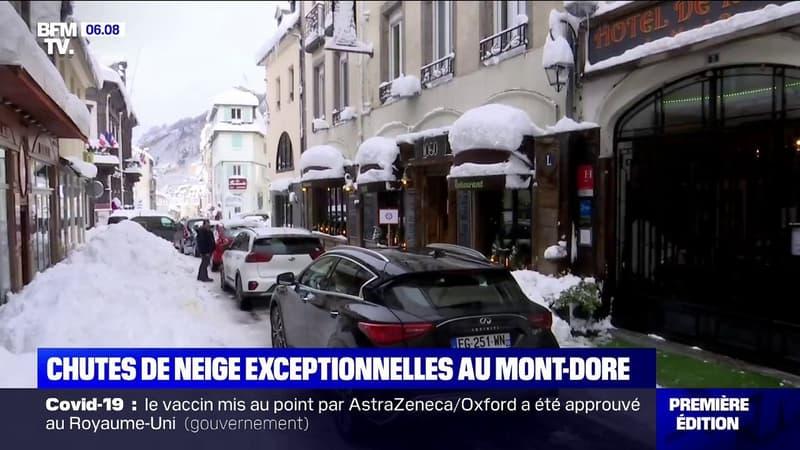 Il n'avait pas autant neigé au Mont-Dore depuis vingt ans