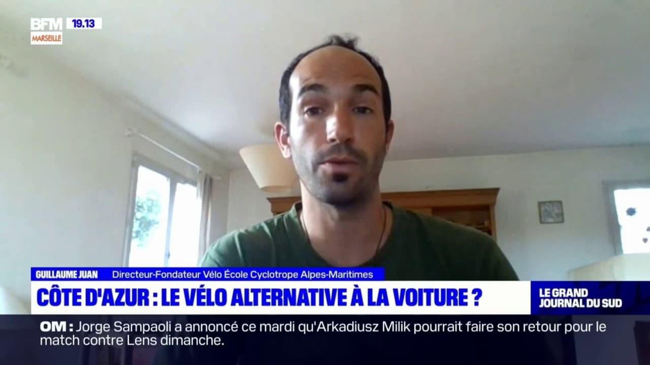 Guillaume Juan, directeur de vélo école cyclotrope des Alpes-Maritimes, invité du Grand Journal du Sud