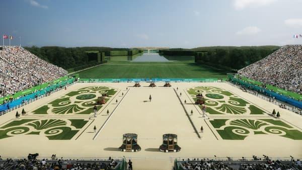 Les épreuves d'équitation auront lieu au Château de Versailles