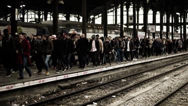 Le taux de grévistes atteint 71,6% chez les conducteurs SNCF, ce jeudi 12 décembre.
