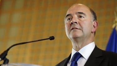 """Le ministre de l'Economie et des finances Pierre Moscovici se sent"""" bien à Bercy"""