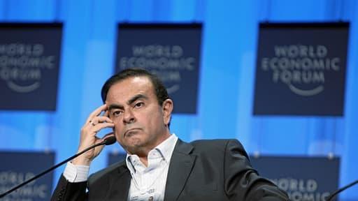 Carlos Ghosn s'est dit prêt à geler 30% de sa rémunération variable si des accords de compétitivité étaient conclus avec les salariés de Renault.