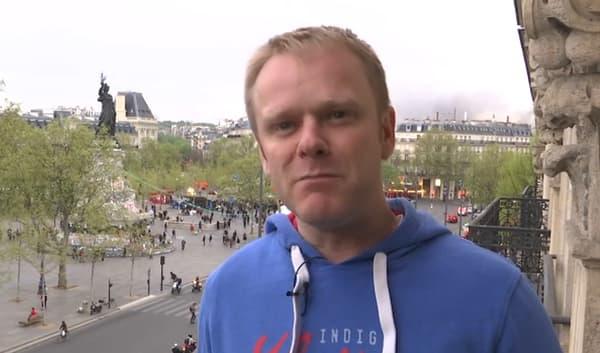 Roland, riverain de la place de la République, se sent en insécurité