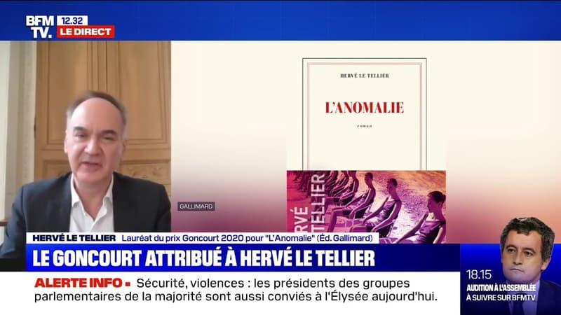 Hervé Le Tellier, lauréat du Goncourt 2020 pour «L'Anomalie»: «Ça ne me déplairait pas d'imaginer ce livre à l'écran»