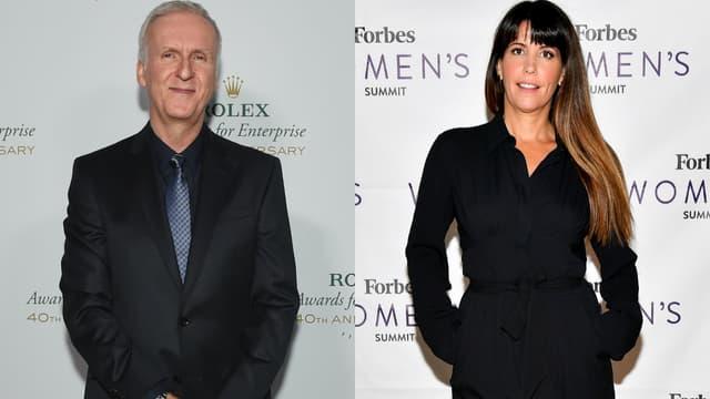 James Cameron à Hollywood en novembre 2016 (à g.), Patty Jenkins à New York en juin 2017 (à dr.)