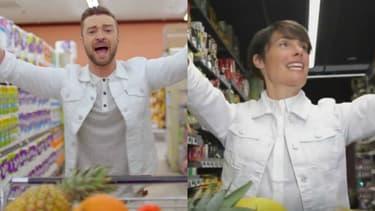 Justin Timberlake a apprécié la parodie de Alessandra Sublet