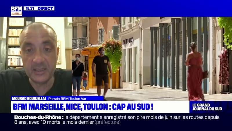Mourad Boudjellal, parrain de BFM Toulon Var et Président du Hyères football club espère pouvoir alimenter la chaîne