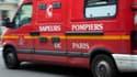 Les pompiers sont rapidement intervenus sur place