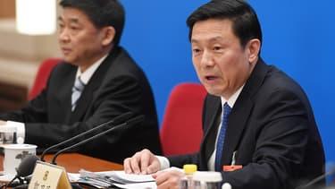 Le vice-ministre chinois de l'Information, Guo Weimin.