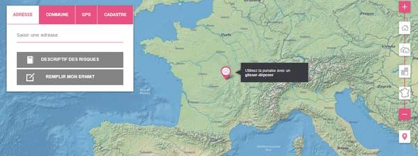 Ce site recense entre autre les 1400 sites classé Seveso de France métropolitaine