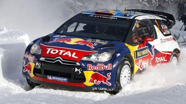 Loeb et sa DS3 sont à la peine en Suède