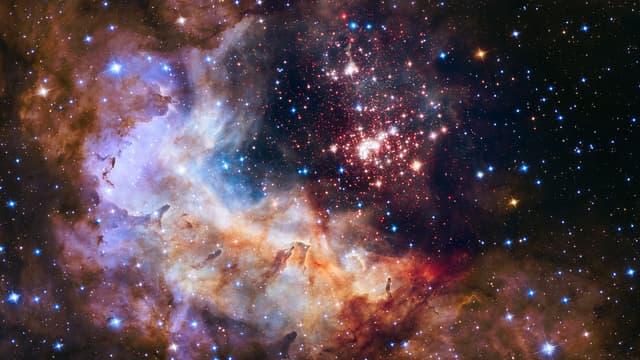 Un amas stellaire (image d'illustration)
