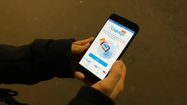 Le Passe Navigo est disponible sur smartphone depuis ce mercredi.