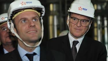 Le PDG d'EDF, Jean-Bernard Levy, attend les décisions d'Emmanuel Macron sur la politique énergétique jusqu'en 2029.