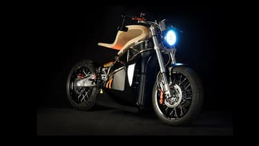 La moto électrique E-Raw