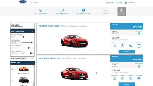 Ford propose désormais en vente directe sur Internet toute sa gamme.