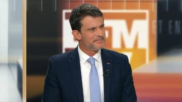 Manuel Valls sur BFMTV dimanche soir.
