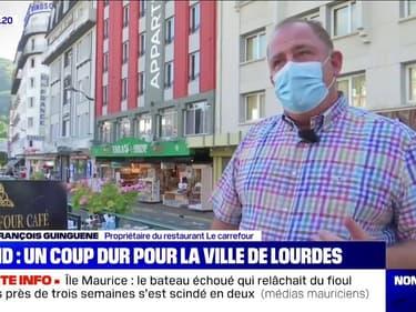 Avec 80% de chiffre d'affaires en moins pour ses commerçants, Lourdes souffre de la crise liée au coronavirus