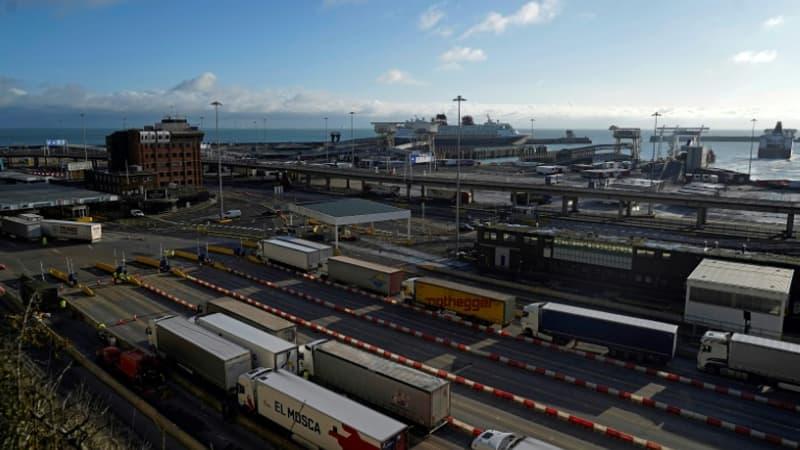 Retour des camions de Douvres: la situation revient à la normale