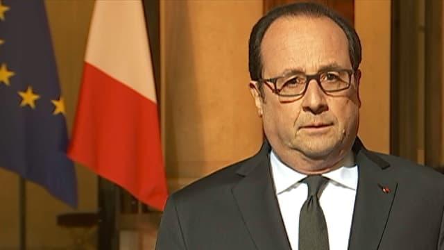 Le président de la République François Hollande le 1er décembre 2016