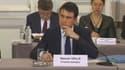 Manuel Valls a assisté vendredi matin à une réunion des préfets au ministère de l'Intérieur.