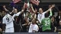 Les Guingampais soulèvent la Coupe de France pour la deuxième fois de leur histoire, après 2009